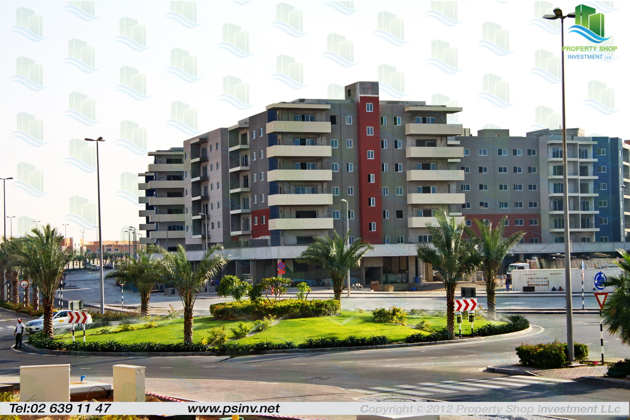 Al Reef Downtown Al Reef Village Apartment Project Abu Dhabi