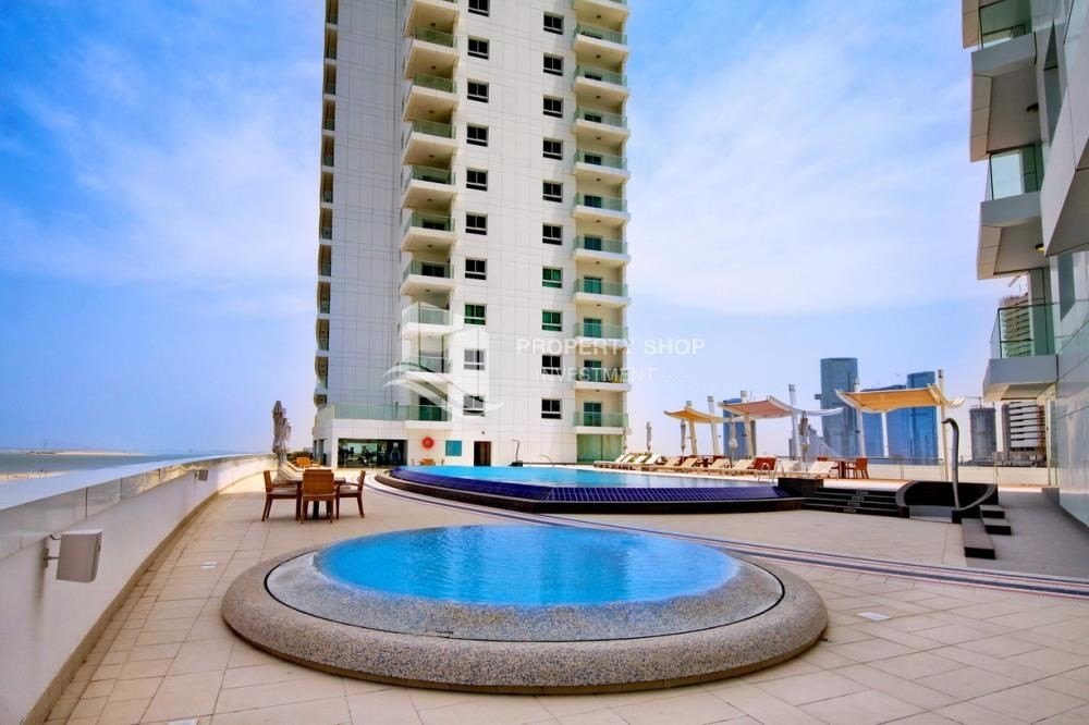 Facilities-4 Cheques! 1BR Apartment with sea view.