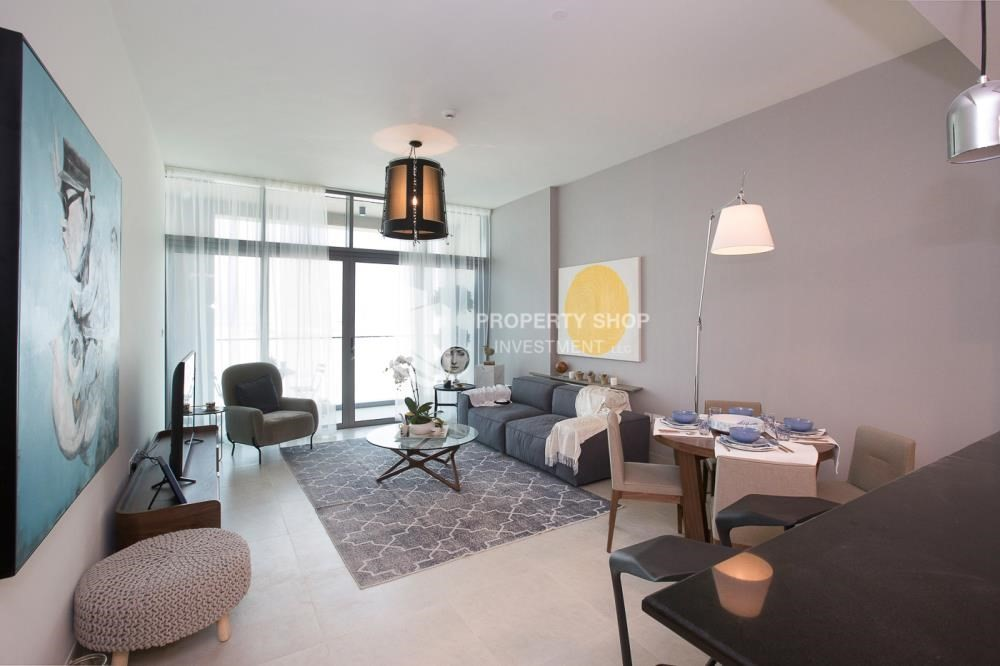 Living Room-Offplan Apt with Easy Payment Plan