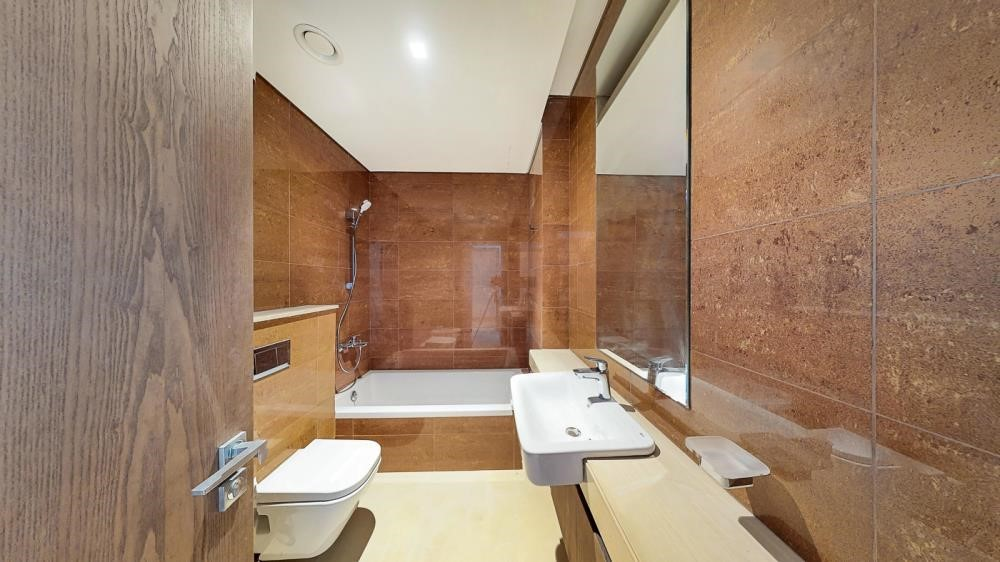 Master Bathroom-2br first class finishing with sensational views of the canal & sea