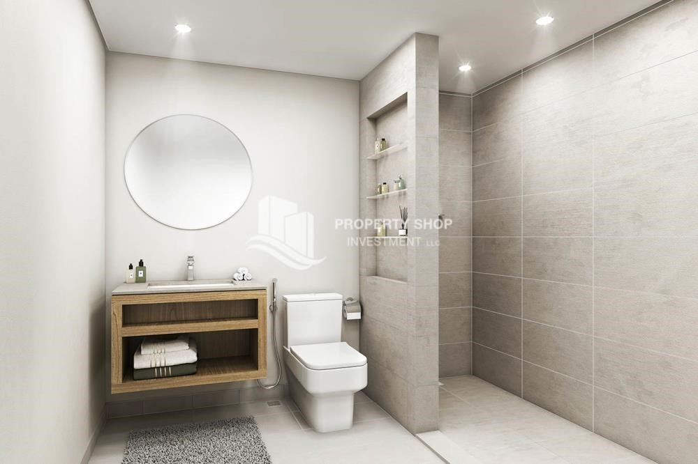 Bathroom-Special offer! 1Bedroom | 3 years free service charge | 3 years free maintenance