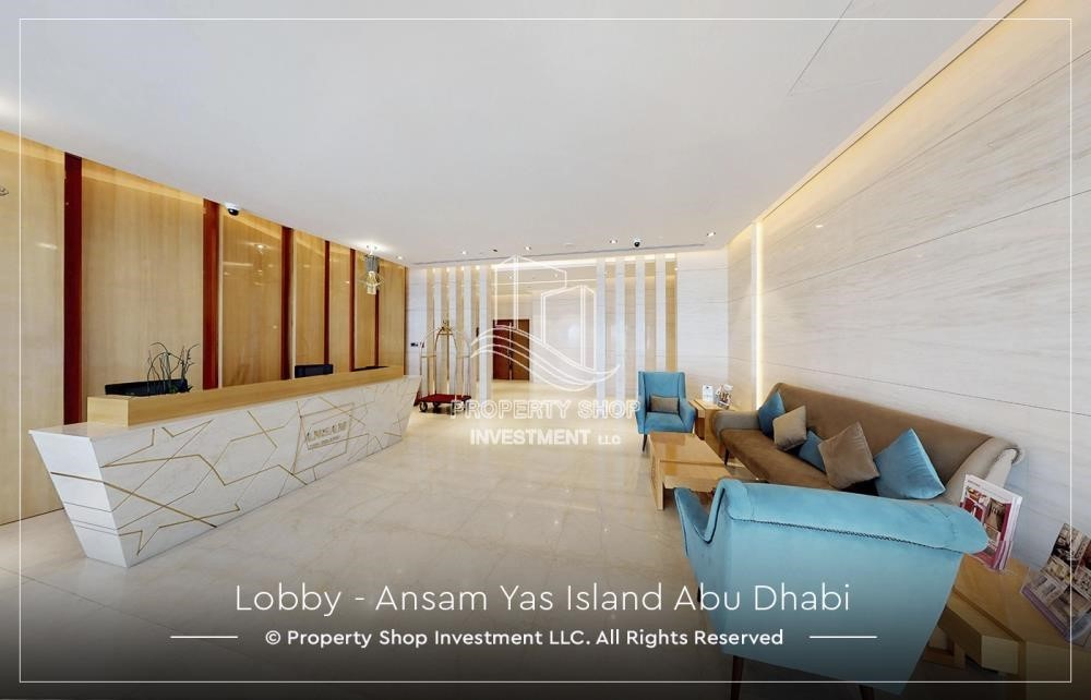 Lobby-High ROI! 2 bedrooms with direct access to the pool and golf view