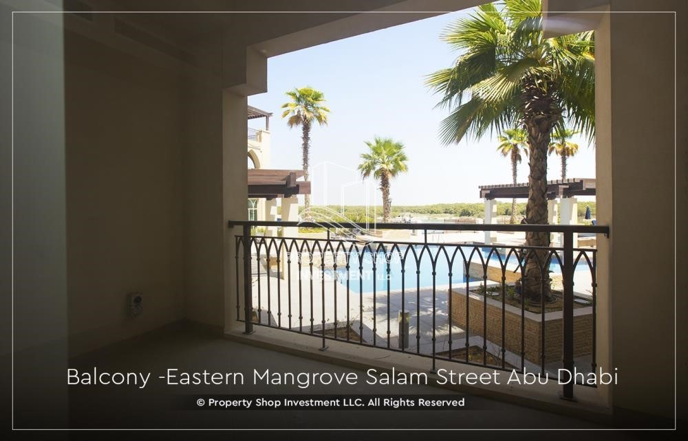 Balcony-Best price for 1BR Apartment In Eastern Magroves! Up to 12 Payments + ZERO COMMISSION