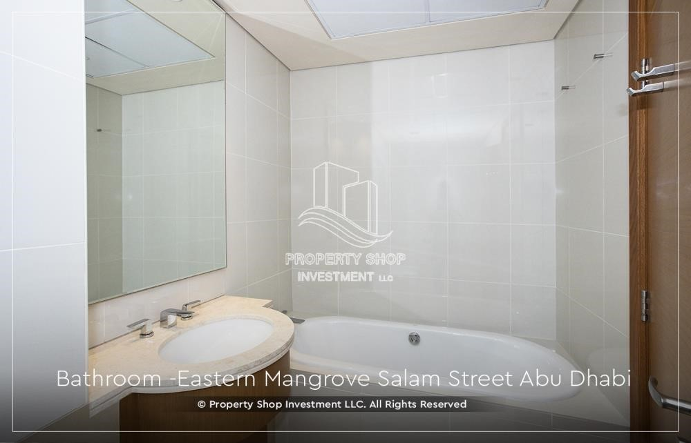 Bathroom-Best price for 1BR Apartment In Eastern Magroves! Up to 12 Payments + ZERO COMMISSION