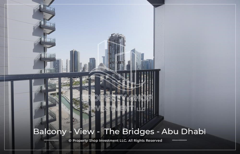 Balcony-1 BR available for Leasing from June in Brand New Tower!