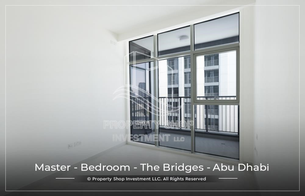 Master Bedroom-1 BR available for Leasing from June in Brand New Tower!