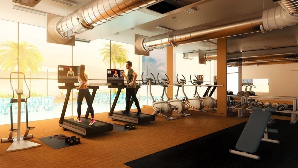 Gym-2br first class finishing with sensational views of the canal & sea