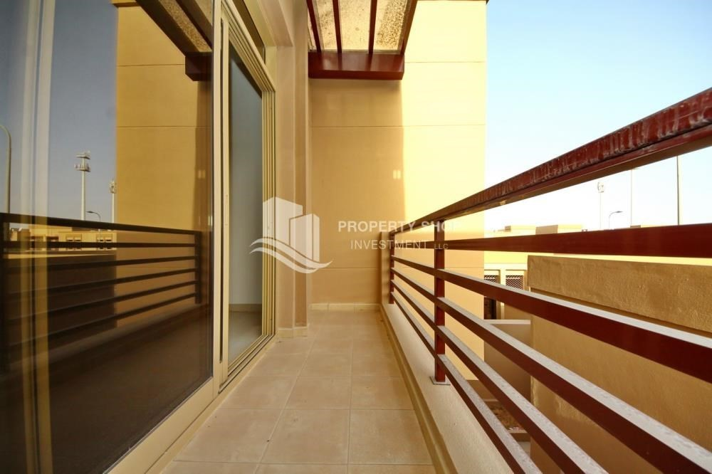 Balcony-Spacious Interiors, 4BR+M townhouse with large terrace area.