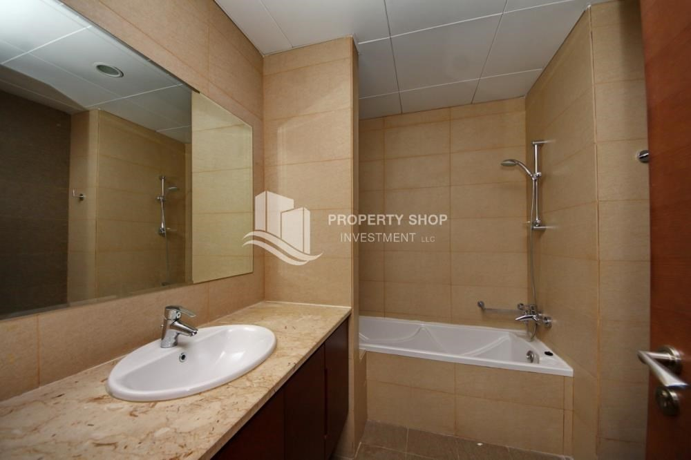 Bathroom-Spacious Interiors, 4BR+M townhouse with large terrace area.