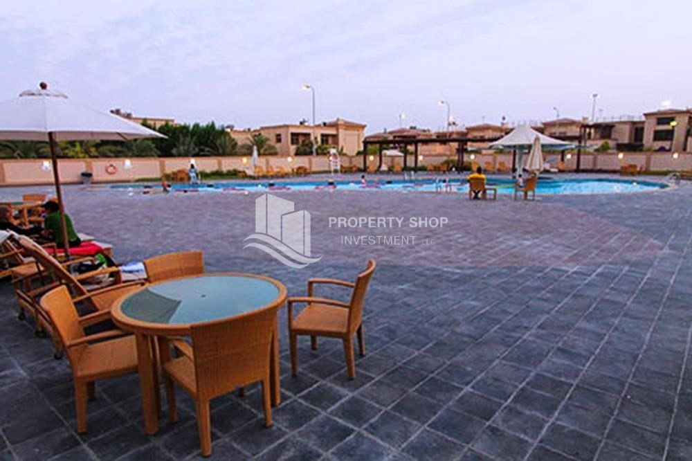 Facilities-Spacious Interiors, 4BR+M townhouse with large terrace area.
