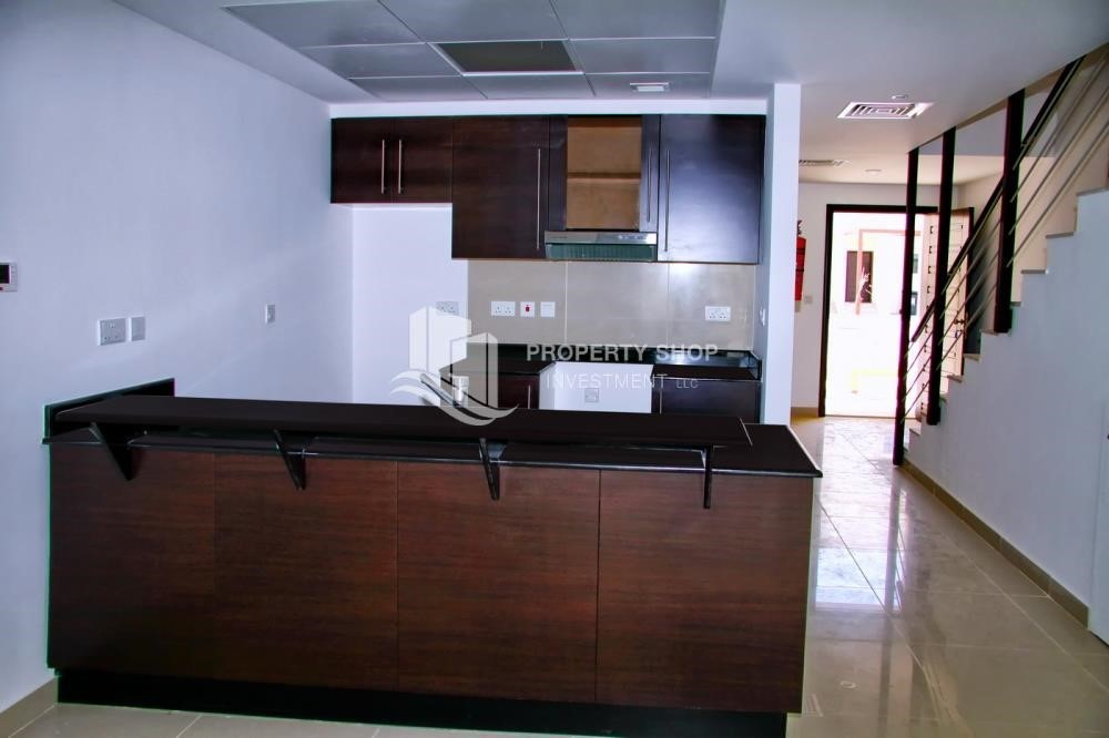Kitchen-2 BR Single Row Villa in Arabian Village for sale