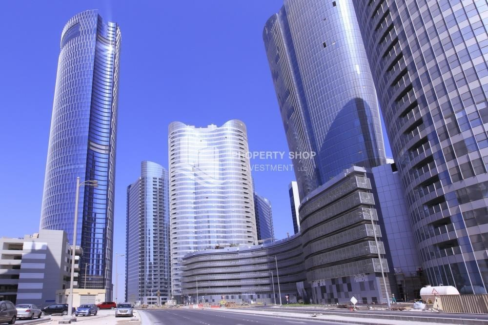 Property-Shell and Core Office Space in Addax Tower, Vacant for RENT