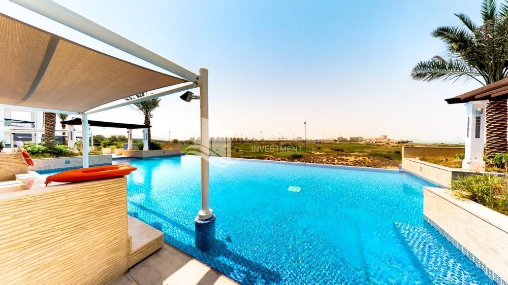 Facilities-High ROI! 2 bedrooms with direct access to the pool and golf view