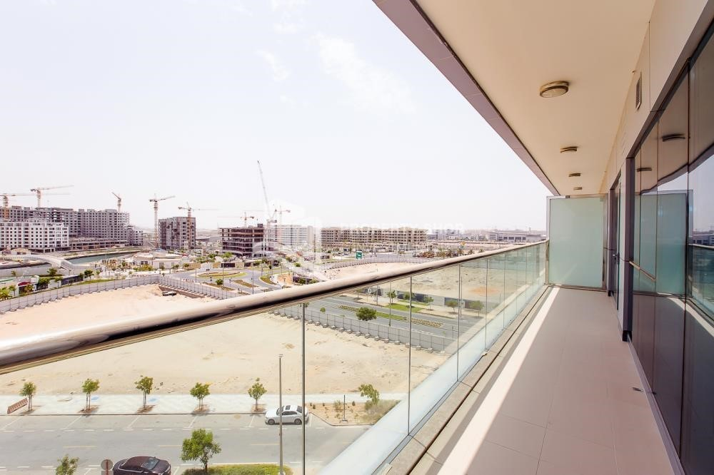 Balcony-Brand New, 2 Br apartment in Al Raha Beach