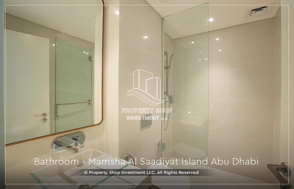 Bathroom-Own a loft type apartment with full sea view in Mamsha.
