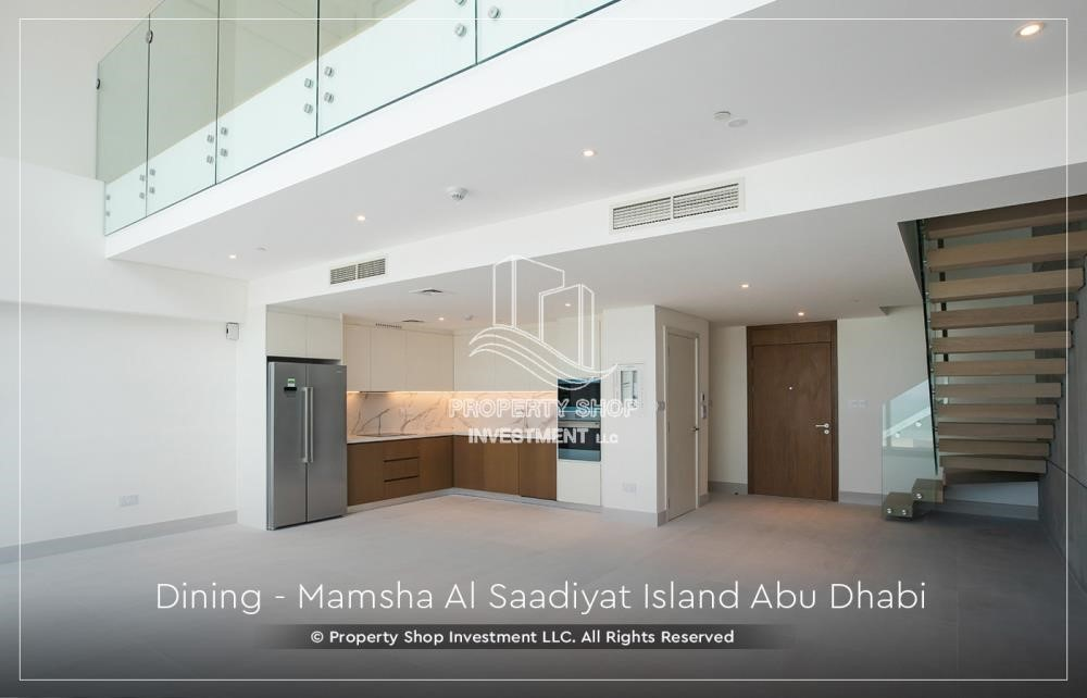 Dining Room-Own a loft type apartment with full sea view in Mamsha.
