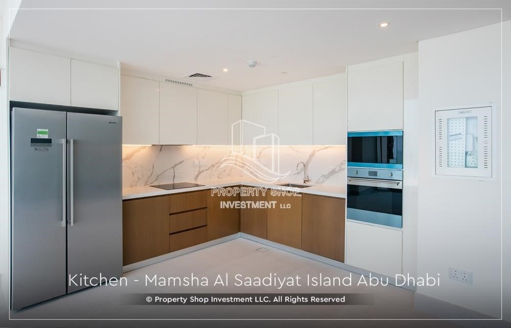 Kitchen-Own a loft type apartment with full sea view in Mamsha.