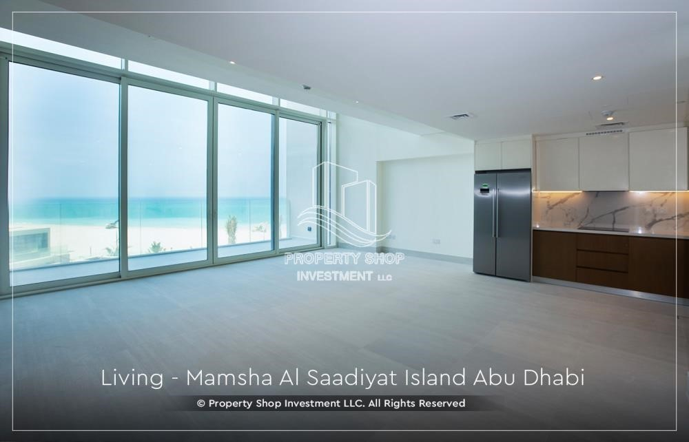 Living Room-Own a loft type apartment with full sea view in Mamsha.
