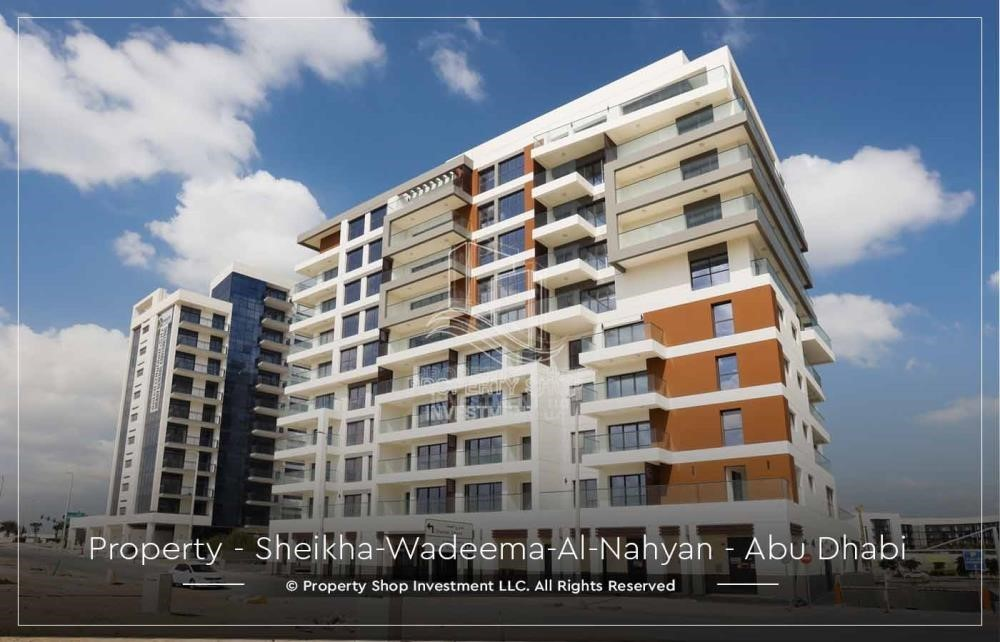 Property-2BR Apt in a brand new building offered for 4 Cheques!