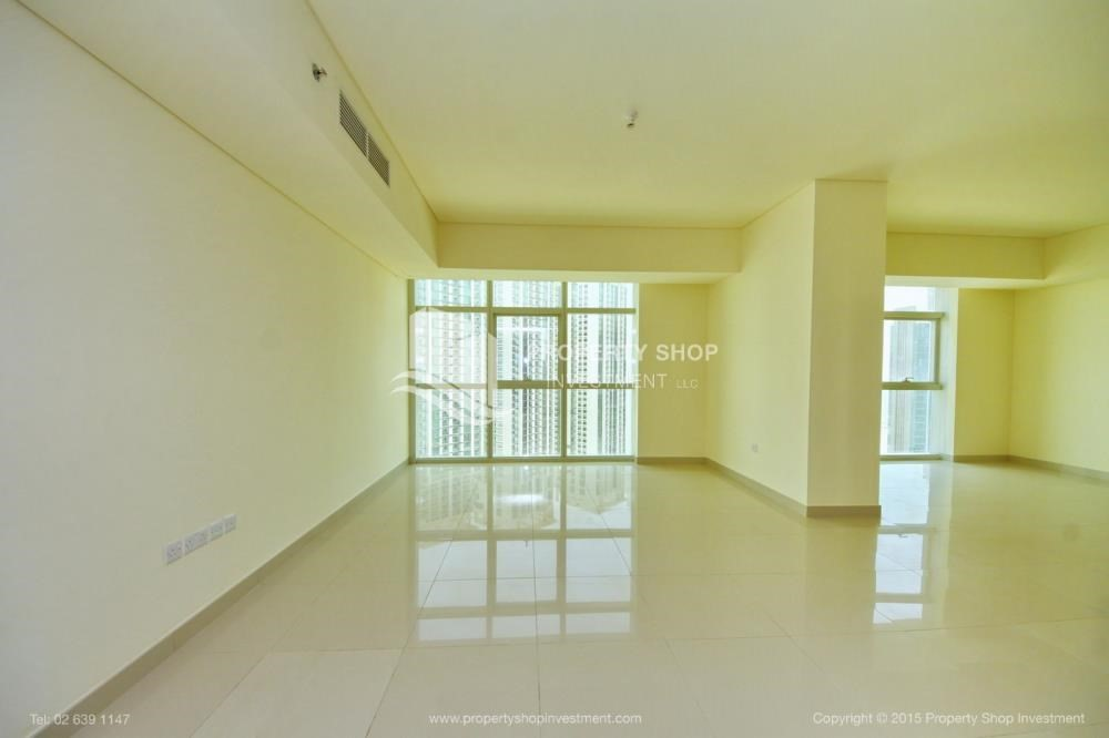 Living Room-Exquisite 2 Bedroom Apartment in Marina Square.