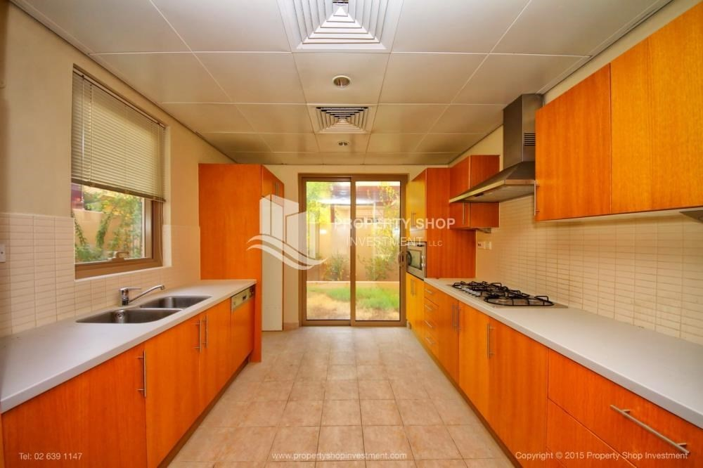 Kitchen-Type A 4BR+M villa with private pool.