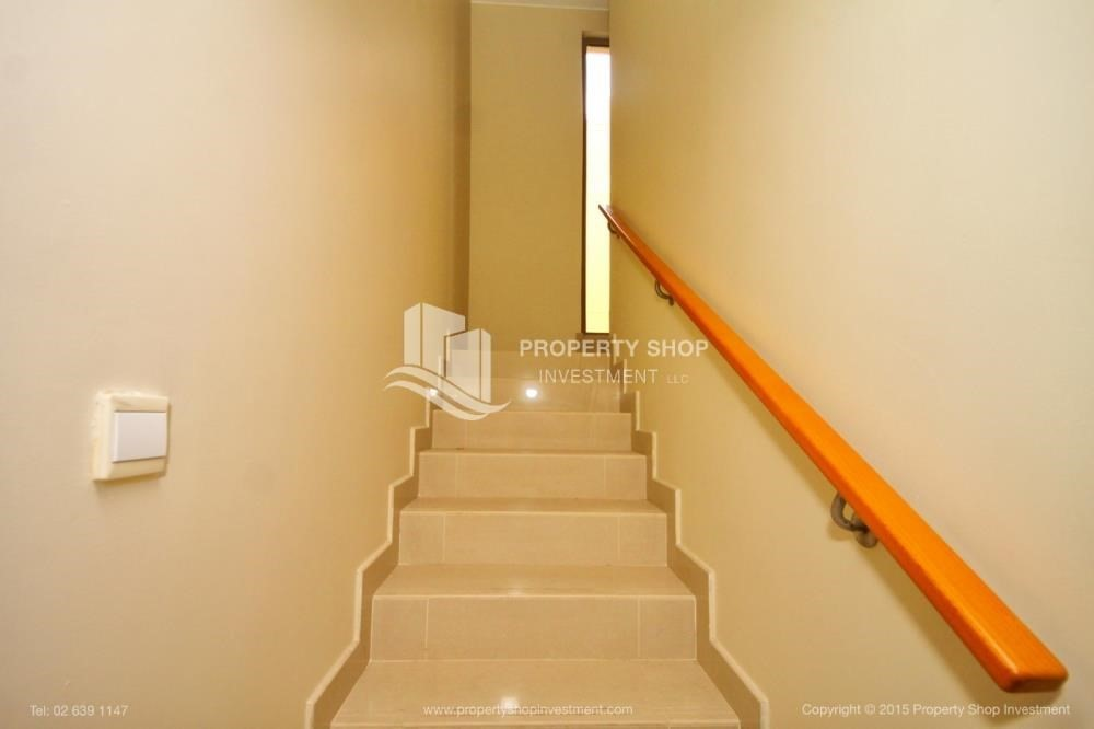 Stairs-Type A 4BR+M villa with private pool.